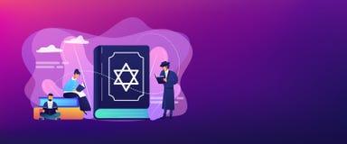 Free Judaism Concept Banner Header. Royalty Free Stock Photos - 147758708