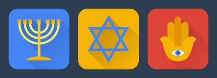 Free Judaism Flat Stock Photos - 46509573