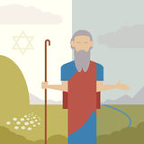 Judaism icon Royalty Free Stock Image