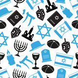 Judaism religion symbols Stock Image