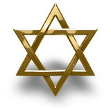 Judaism religious symbol - star of david Stock Photo