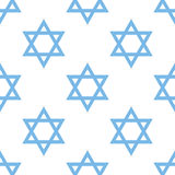 Judaism seamless pattern Royalty Free Stock Images