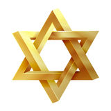 Judaism star. Seal of Solomon vector icon Stock Photos