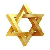 Judaism star. Seal of Solomon vector icon Stock Photos