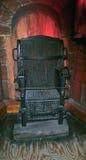 Judas Iron Chair medieval de la tortura Imagenes de archivo