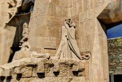 Judas kyss av sveket Royaltyfri Bild