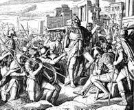 Judas Maccabaeus Wins Royalty Free Stock Photo