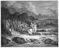 Judas Maccabeus Pursuing Timotheus Royalty Free Stock Image