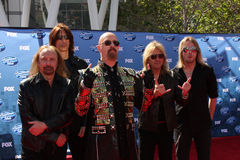 Judas Priest. LOS ANGELES - MAY 25:  Judas Priest arriving at the 2011 American Idol Finale at Nokia Theater at LA Live on May 25, 2010 in Los Angeles, CA Stock Photography