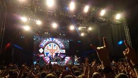 Judas Priest no concerto Imagens de Stock