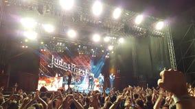 Judas Priest-overleg royalty-vrije stock afbeelding