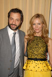 Judd Apatow,Leslie Mann Stock Photo