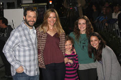 Judd Apatow,Leslie Mann Royalty Free Stock Images