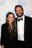 Judd Apatow, Maude Apatow Stock Images