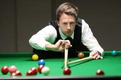 """Judd Trump van het UK in actie tijdens de toernooien""""victoria Bulgarije open† van de Wereldsnooker nov., 2012 in van Sofia,  Royalty-vrije Stock Foto's"""