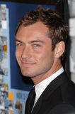 Jude Law. Actor JUDE LAW at the Los Angeles premiere of her new movie Casanova. November 13, 2005  Los Angeles, CA.  2005 Paul Smith / Featureflash Royalty Free Stock Photography