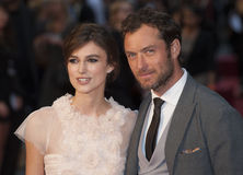 Jude Law,Keira Knightley Stock Images