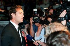 Jude Law pendant le Karlovy varient IFF 2010 Images libres de droits