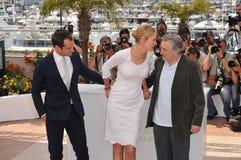 Jude Law, Robert De Niro, Ούμα Θέρμαν, η κριτική επιτροπή Στοκ φωτογραφία με δικαίωμα ελεύθερης χρήσης