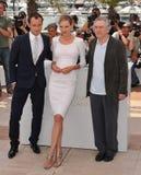 Jude Law,Robert De Niro,Uma Thurman,The Jury Stock Image