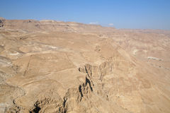 Judea Desert. View on Judea desert, Israel Stock Image