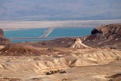 Judea Desert landscape. Stock Photo