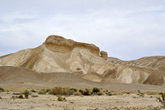 Judea desert landscape. Royalty Free Stock Photos