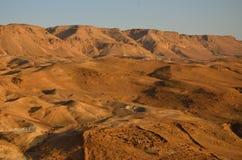 Judea-Wüste lizenzfreies stockbild