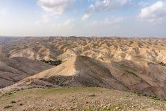 Judean沙漠,以色列看法  免版税库存照片