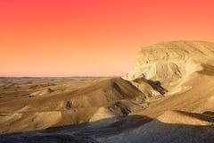 Judean沙漠 免版税库存图片