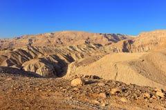 Judean沙漠 库存图片