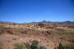 judean的沙漠 库存图片