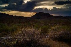 judean的沙漠 图库摄影