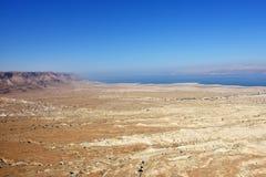 Judean öken, Israel Arkivbild