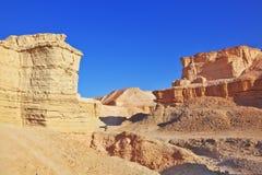 Τα αρχαία βουνά της ερήμου Judean Στοκ φωτογραφία με δικαίωμα ελεύθερης χρήσης