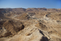 Judean desert Stock Photos