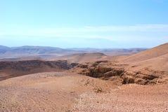 Judean Desert. Royalty Free Stock Photo