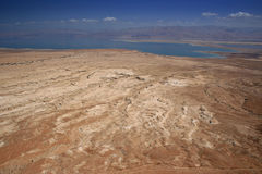 Judean Desert and Dead Sea Stock Photography