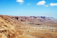 Judean Desert. Fragment of the Judean desert near the Dead Sea Stock Photos