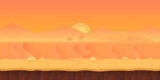 judean desert ilustracja Obrazy Stock