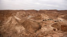 Judean desert of Israel Stock Photo