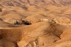 Judean desert landscape Royalty Free Stock Photo