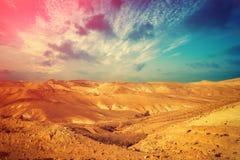 Judean desert Royalty Free Stock Photography