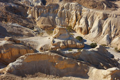 Judean Desert, the road to the Dead Sea. Royalty Free Stock Photos