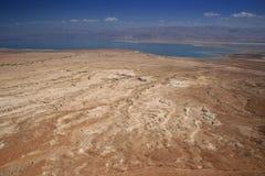 Judean Wüste und Totes Meer Stockfotografie