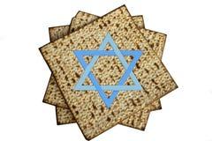 Judendoms ferie på vit bakgrund royaltyfria foton