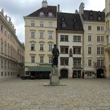 Judenplatz Photo stock