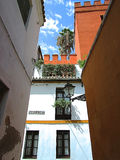 Juderia-Straße Sevilla, Spanien Lizenzfreie Stockfotografie