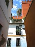 Juderia ulica seville Spain fotografia royalty free