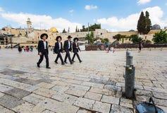 Judeus religiosos Imagem de Stock